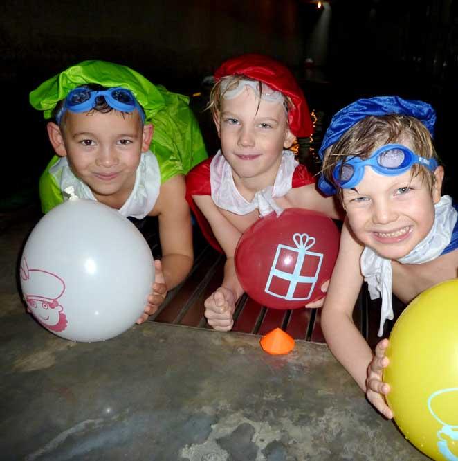 zwemles Sinterklaas activiteiten